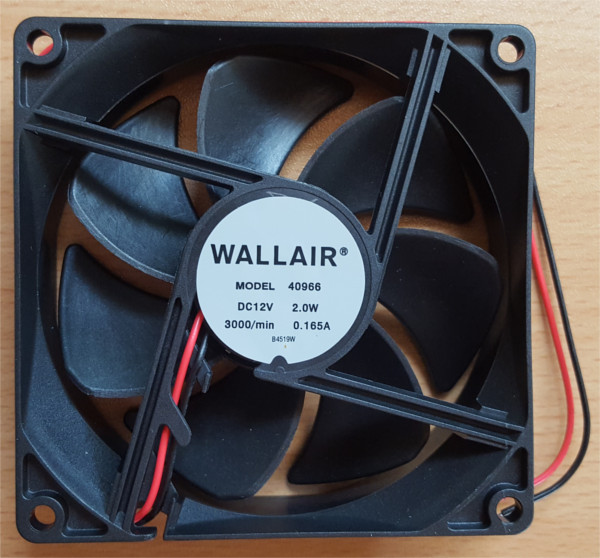 Wallair AKSIALVENTILATOR 12V