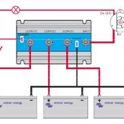 Argo FET batteri isolator