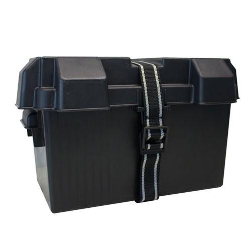 Battery Box HM318BK-PLT Black