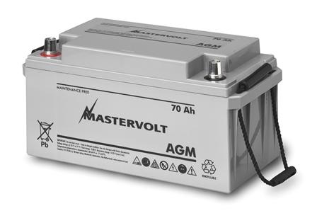 Mastervolt - AGM 1270 - 12V 70Ah