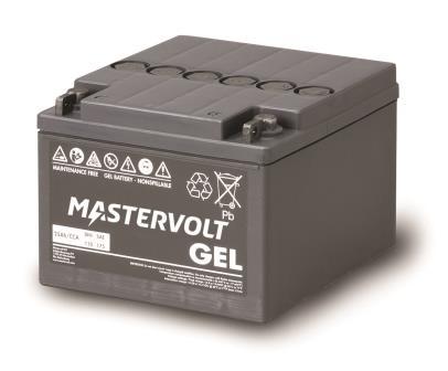 Mastervolt - MVG 1225 - GEL 12V 25Ah