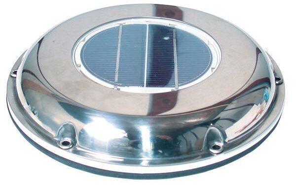 Solcelle ventilator ø220mm