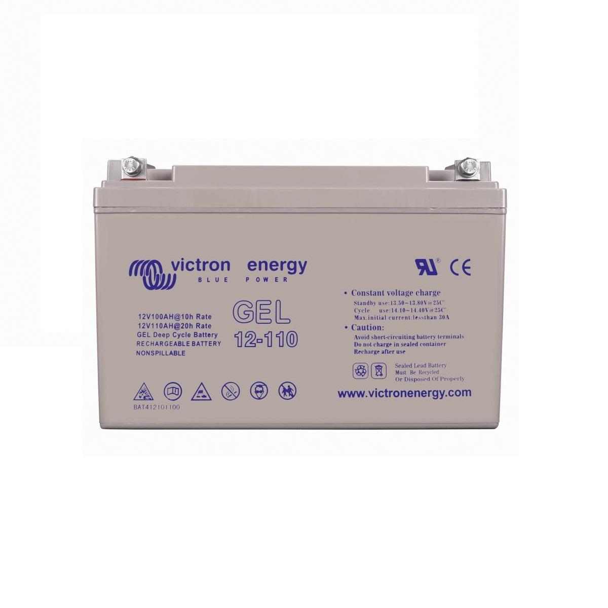Victron 12-Volt-110-Ah-Gel-Deep-Cycle-Batteri