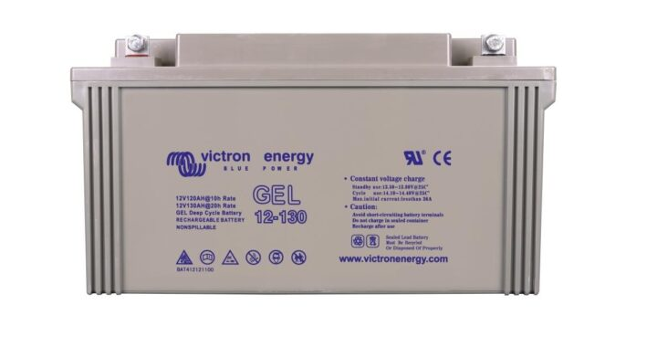 Victron 12-Volt-130-Ah-Gel-Deep-Cycle-Batteri