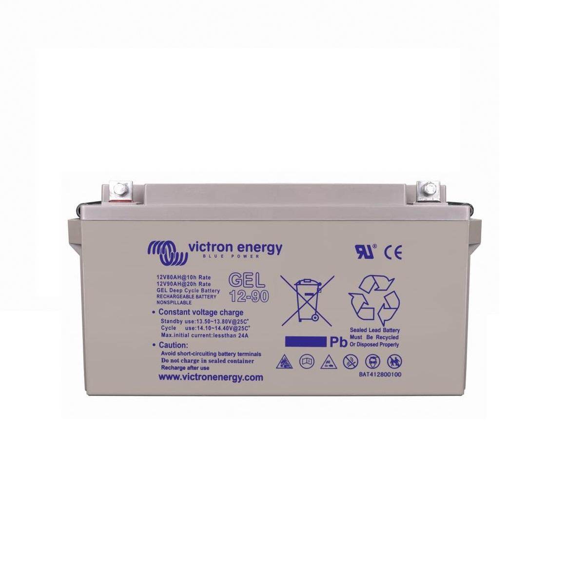 Victron 12-Volt-90-Ah-Gel-Deep-Cycle-Batteri