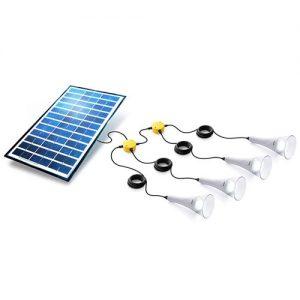 T-Lite 180 solcelle belysningskit hvid Sundaya