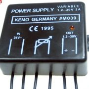 Strømforsyning 1,2 – 30 V / DC, max. 2A M039