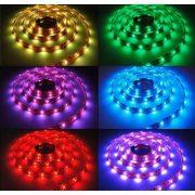 LED bånd/strips, 7,2 W/m, RGB, IP67, SMD 5050