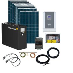Energy Generation Kit Solar Apex 2,5Kw48V
