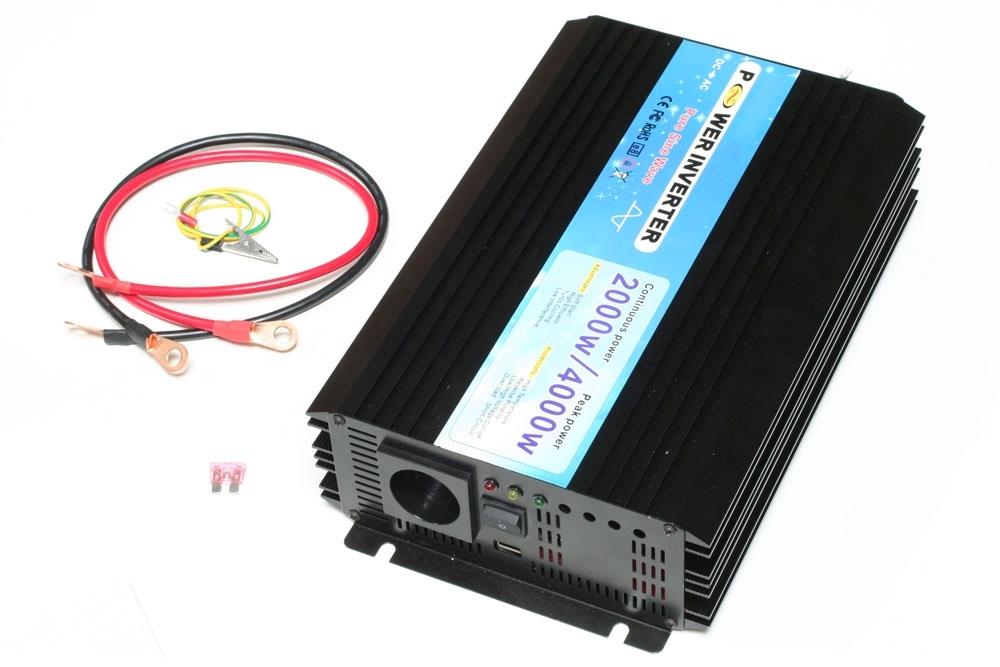 Ren Sinus inverter 24V-230V,3.000 Watt