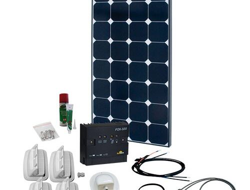 SPR Caravan Kit Solar Peak Two 5.0