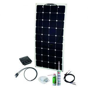 Solcelleanlæg, generator kit Flex Rise TWO 120W/12V, uden batteri