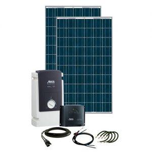 Solcelleanlæg, generator kit Solar Rise Six X 500W/24V, uden batteri