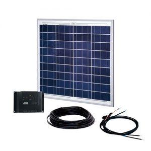 Solcelleanlæg, generator kit Solar Up One 50W/12V, uden batteri