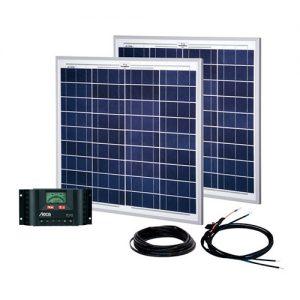 Solcelleanlæg, generator kit Solar Up Two 100W/12V, uden batteri
