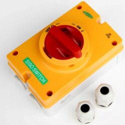 AC afbryder 230_415V 32A 4P med M25