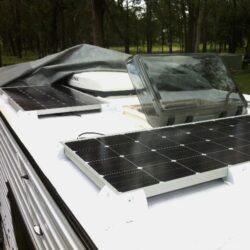 Solcelleanlæg til autocamper, campingvogn & båd