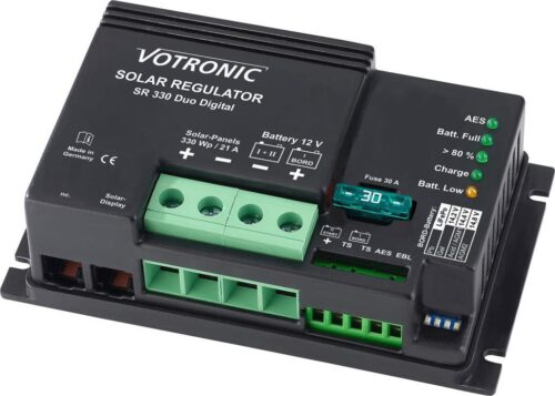 Laderegulator Votronic Solar- SR 300-24V Duo Dig