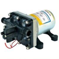 Overflade / lænse / rule / dyk pumper forsynet fra 12/24V batterier