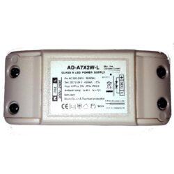 Stroemforsyning til 12V-24V LED AD-A7X2W